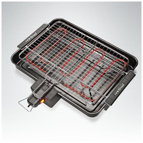 CL217 GranGrill Barbecue Elettrico Potenza 2200 Watt