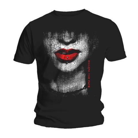 ROCK OFF Escape The Fate - Lips (T-Shirt Unisex Tg. S)