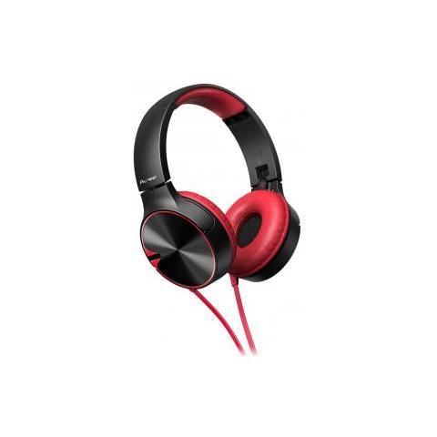 PIONEER - Se-mj722t Cuffie Con Microfono E Bassi Potenti - Nero   Rosso 842b5fe3f964
