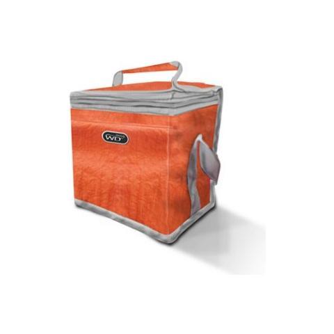 WD lifestyle Borsa Termica Da Mare Da Campeggio E Montagna 8 Litri Wd370 Colori Assortiti - Arancio