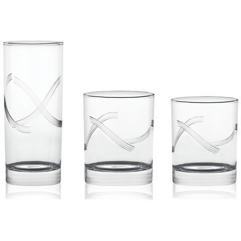 Nola 01 - Servizio Bicchieri 38 Pezzi