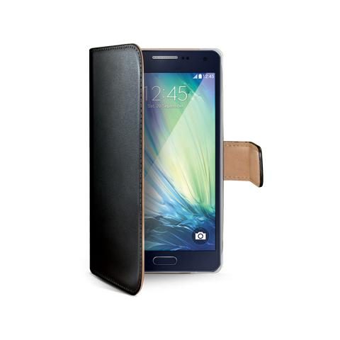 CELLY bk pu wallet case for galaxy a3