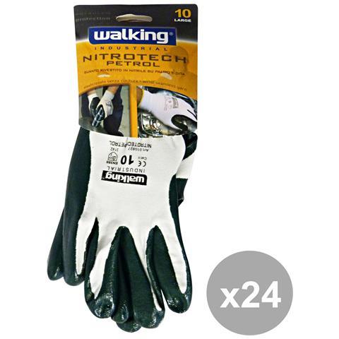 Walking Set 24 Nitrotech Petrol Taglia 10 Walking 010827 - Giardinaggio