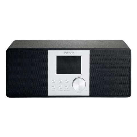 Lenco DIR-200 Internet Analogico e digitale Nero radio