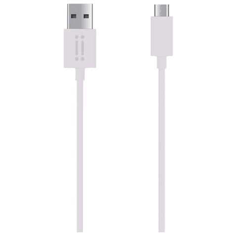 AIINO Micro USB to USB reversible cable - White