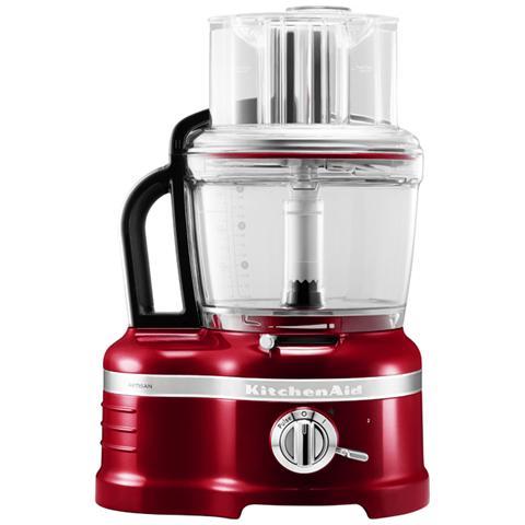 Food Processor Artisan Robot da Cucina Potenza 650 Watt 5KFP1644ECA Colore Rosso Mela Metallizzato