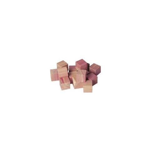 compactor Set 15 Cubetti In Cedro Rosso Antitarme