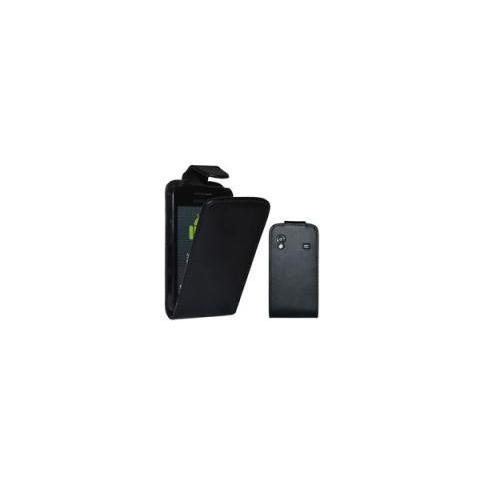 Samsung Custodia Samsung S5830 Galaxy Ace Top Open Pelle Black