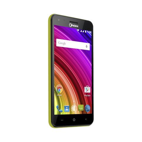 "NGM You Color E507 Plus Lime 8 GB Dual Sim Display 5"" Slot Micro SD Fotocamera 5 Mpx Android Italia"