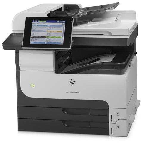 Image of LaserJet Enterprise 700 MFP M725DN Stampante Multifunzione Stampa Copia Scansione Laser B / N A4 41 Ppm Eprint Usb 2.0 Gigabit Ethernet Wireless (Opzionale)