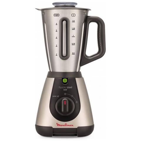 Frullatore Moulinex Lm320a 2 L 550w Argento In Metallo