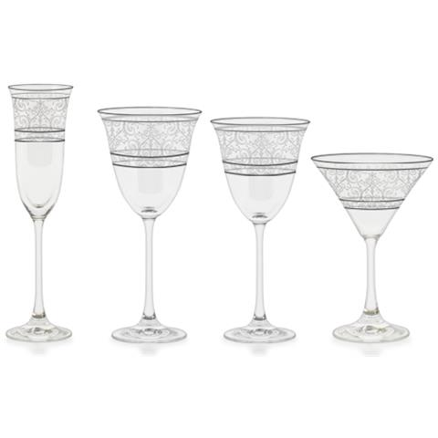 Versailles - Servizio Bicchieri 50 Pezzi