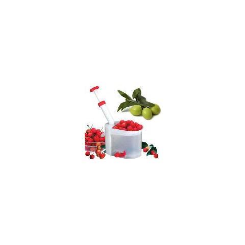 Disossatore Per Ciliegie e Olive In Plastica e Lame In Acciaio Snocciolatore