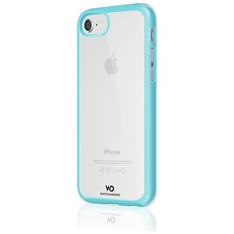 WHITE DIAMONDS Cover per iPhone 8 / 7 / 6S / 6 Colore Trasparente