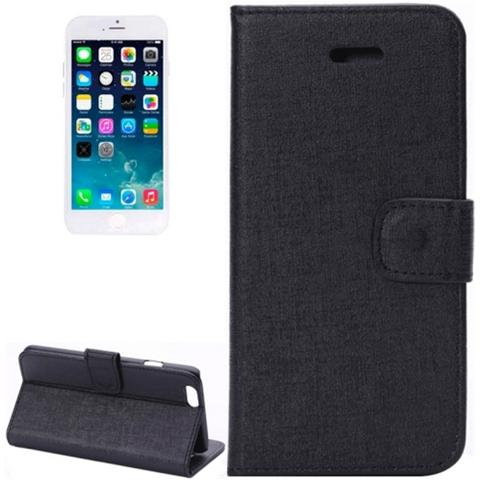 Network Shop Custodia Oracle Texture Flip Leather Case Con Stand Per Iphone 6 Nero