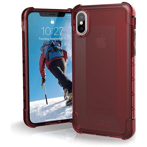 UAG Cover per iPhone X Colore Rosso