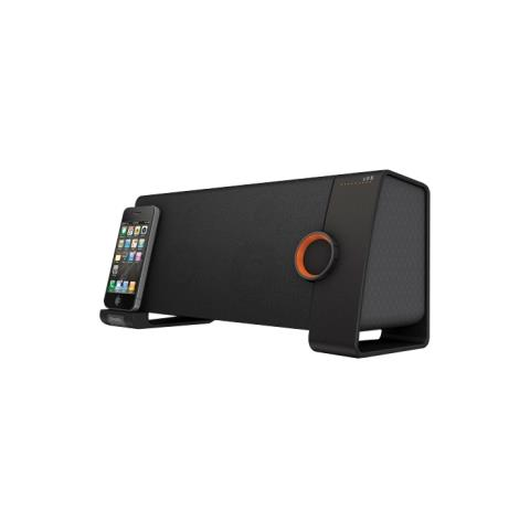 XTREME Sistema di altoparlanti XtremeMac TangoTRX - 2.1 - Altoparlanti wireless - Nero - Bluetooth - Supporto iPod