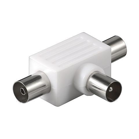 WENTRONIC CA 1008 P Coassiale Coassiale Bianco cavo di interfaccia e adattatore
