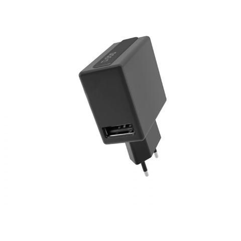 SBS Caricabatteria da Viaggio 1000 mAh con Porta USB