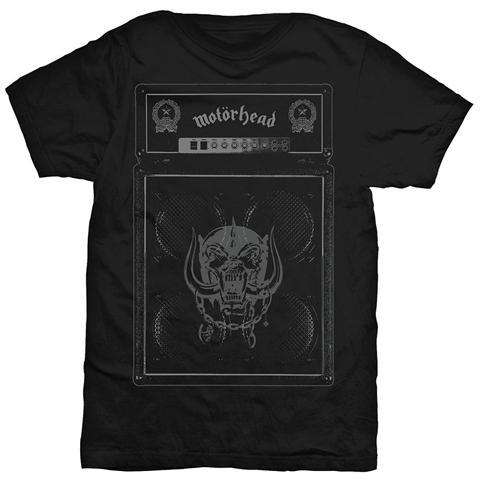 ROCK OFF Motorhead - Amp Stack Black (T-Shirt Unisex Tg. L)