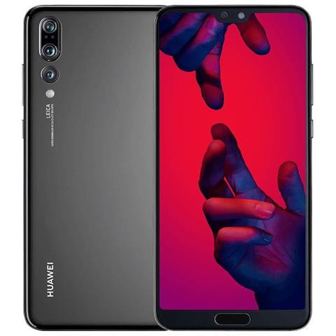 "HUAWEI P20 Pro Nero 128 GB 4G / LTE Impermeabile Display 6.1"" Full HD+ Fotocamera 40 Mpx Android Vodafone Italia"