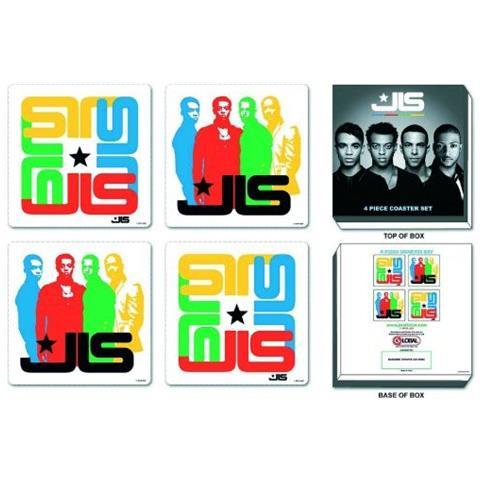 Jls - Mixed Designs (set 4 Sottobicchieri)