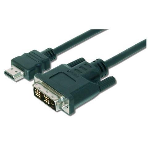 DIGITUS ASSMANN Electronic DK-330300-030-S, 3m, HDMI, DVI-D, Sacchetto di politene