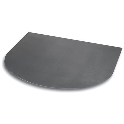 Piastra Pedana Semitonda per Stufe Legna 80x90 cm