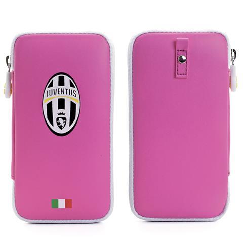 MUVIT Juve Pu Case Zip Closure Pink