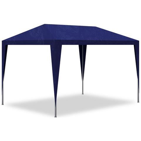 Gazebo Tenda da Esterno per feste 3x3 blu