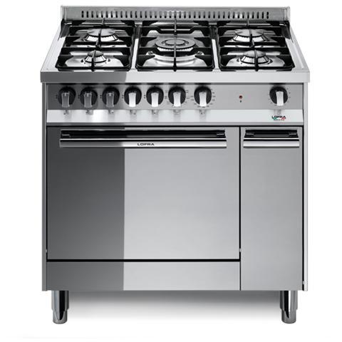 Cucina Elettrica MT86MF / C 5 Fuochi a Gas Forno Elettrico Classe A Dimensioni 80 x 60 cm...