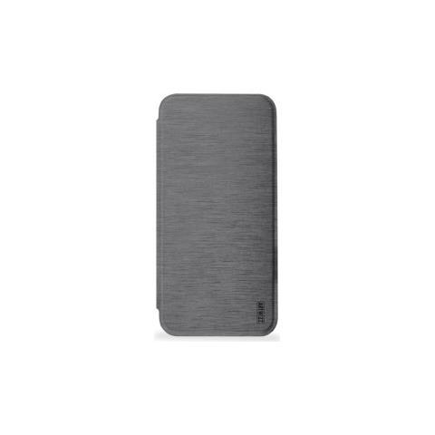 ARTWIZZ Flip Cover Custodia per iPhone X Colore Titanio