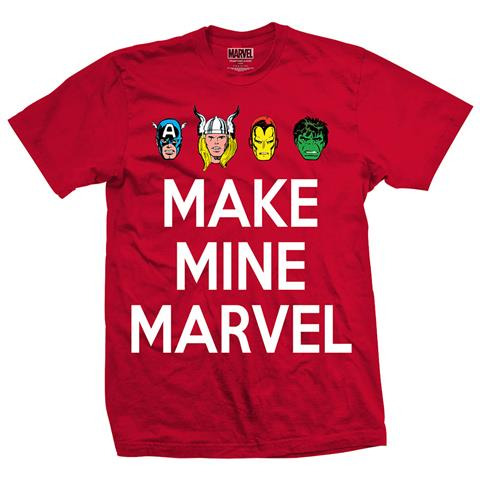 ROCK OFF Marvel Comics - Make Mine (T-Shirt Unisex Tg. L)