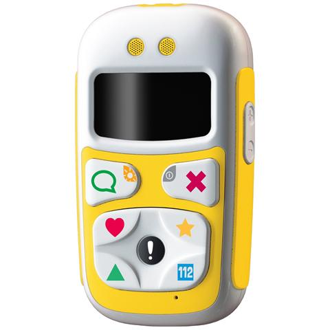 "GIOMAX BPhone U10 Yellow Display OLED 1.1"" Mediatek MT6252A GSM Dual band con GPS - Italia"