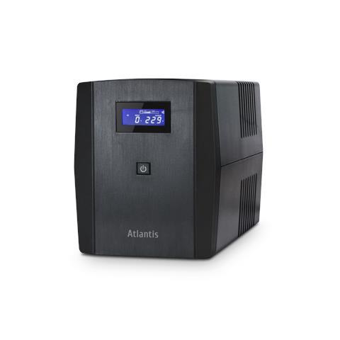 Microprocessor UPS ATLANTIS A03-S1200 1200VA / 700 W con tecnologia Line-Interactive