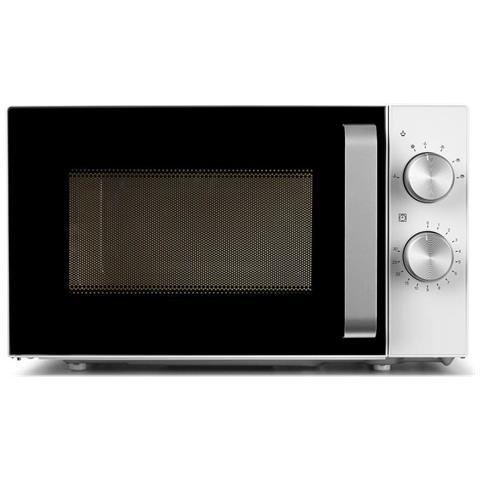 18071 Forno Microonde con Grill Capacità 20 Litri Potenza 700 Watt Colore Bianco