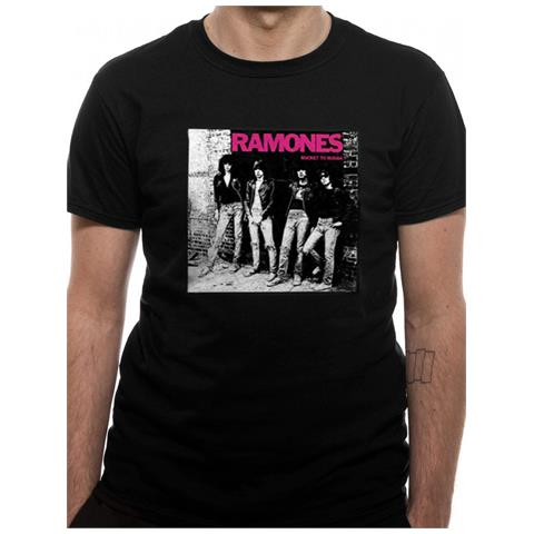 CID Ramones - Rocket To Russia (T-Shirt Unisex Tg. S)