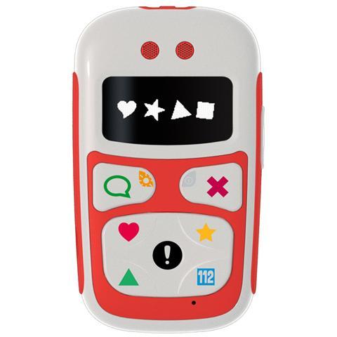 "GIOMAX Baby Phone U10 Red Display OLED 1.1"" Mediatek MT6252A GSM Dual band con GPS - Italia"