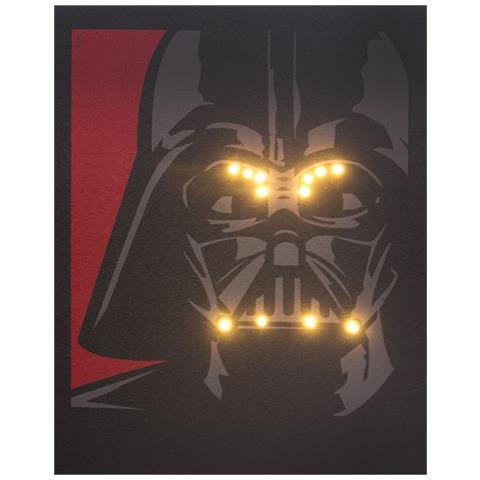 DIVERS Quadro Luminoso Star Wars-Darth Vader Sm