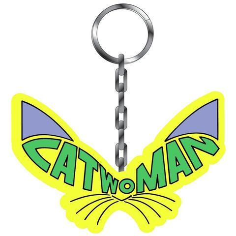 IMPORT Batman - Catwoman (Portachiavi Metallo)