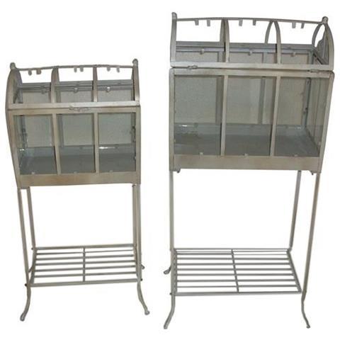 Serra Rialzata C. vetro Ferro Crema