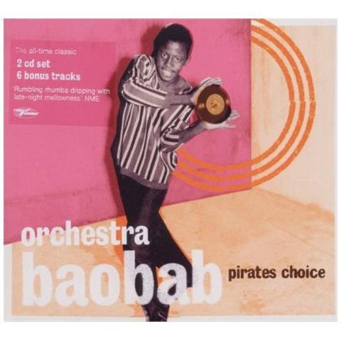 WORLD CIRCUIT Orchestra Baobab - Pirates Choice (2 Cd)