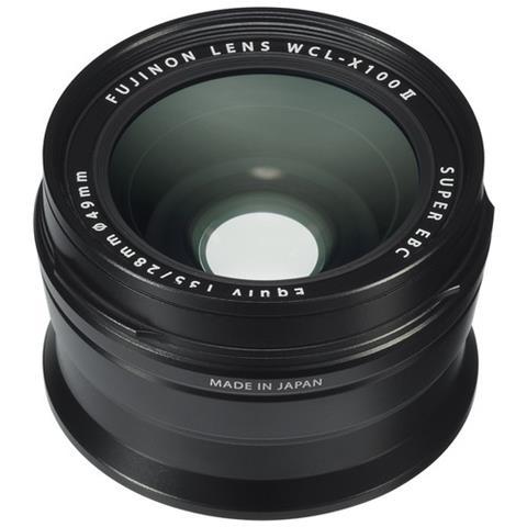WCL-X100 II nero lente di conversione grandangolare