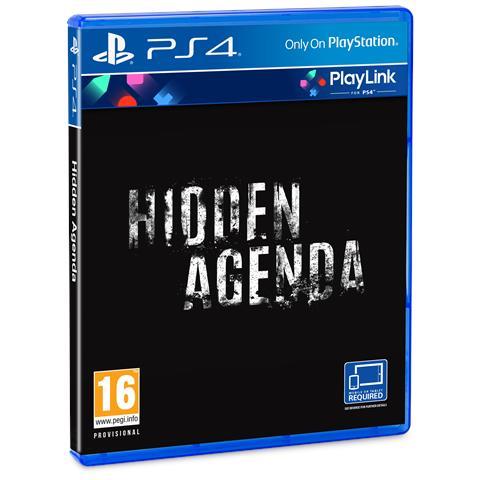 SONY PS4 - Hidden Agenda Playlink
