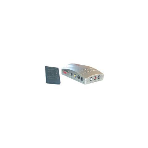 MCL Convertisseur Video vers VGA VGA RCA / SVHS Nero cavo di interfaccia e adattatore