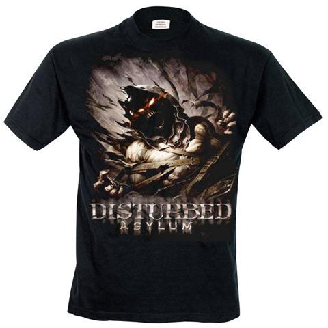 Rock Off Retail Limited Disturbed - Asylum (T-Shirt Unisex Tg. M)