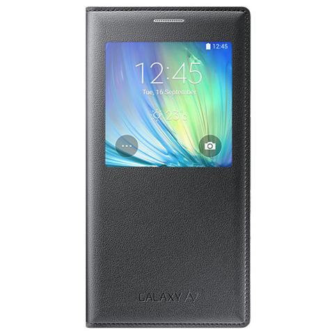 SAMSUNG S-View Flip Cover per Galaxy A7 - Nero