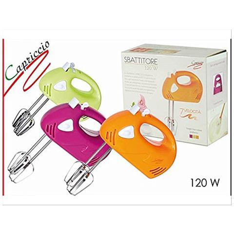 Sbattitore Frullatore Elettrico Dictrolux Da Cucina 7 Velocità Con Fruste 120 W