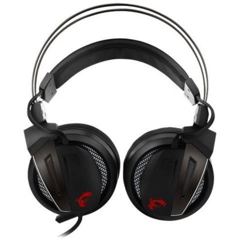 Cuffie Gaming Immerse GH60 con Cavo e Microfono Colore Nero