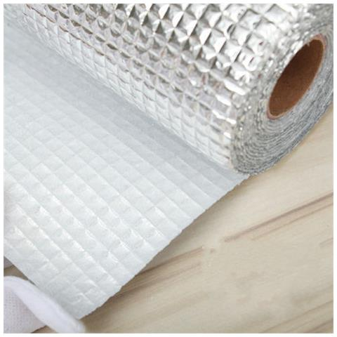 Foglio Alluminio Multifunzione Cucina Tappeto Protezione Mensole 45x200cm